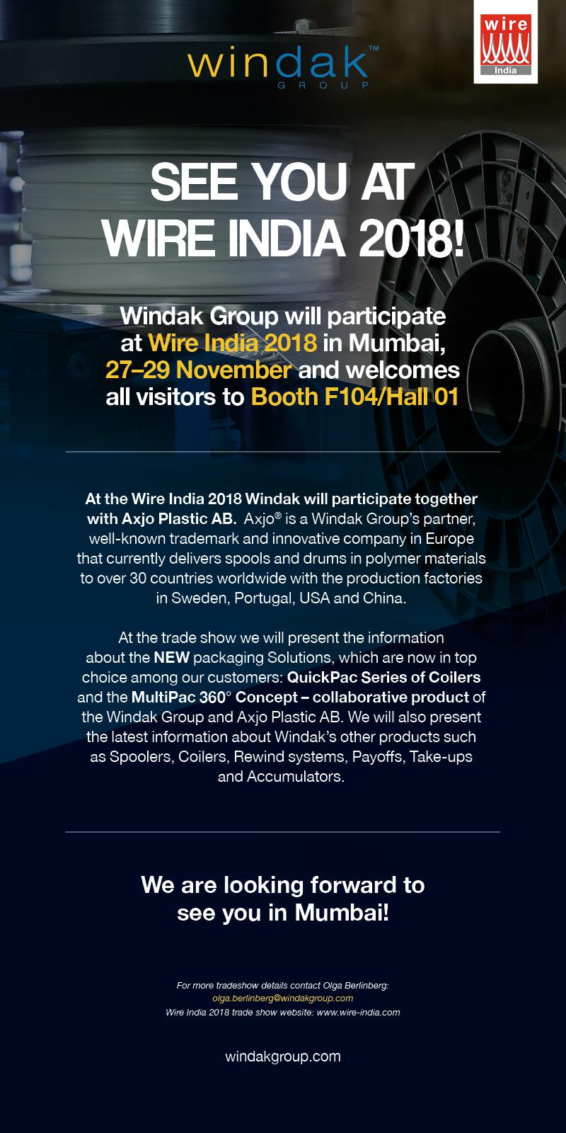 Windak_invitation_Wire India 2018